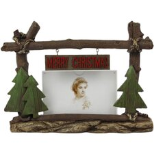 Log Tree Picture Frame