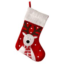 Sparkle Reindeer Stocking