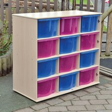 Medium Outdoor Storage with Trays