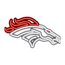 NFL Team Logo Neon Sign