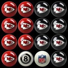 16 Piece NFL Billiard Ball Set