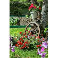 Decorative Antique Wagon Garden Wheel