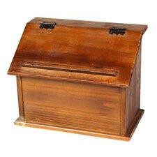 Old Wooden Podium Recipe Box