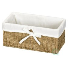 Seagrass Lined Shelf Basket