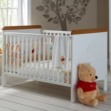 Disney Winnie the Pooh Deluxe 2-in-1 Convertible Cot