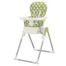 Nanofold Highchair in Dotty Lime