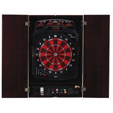 Viper Metropolitan Mahogany Soft-Tip Dartboard Cabinet