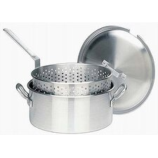 """13"""" Non-Stick Frying Pan with Lid"""
