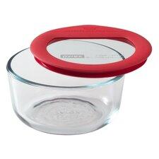 Premium Glass Lids 16 Oz. Round Storage Dish
