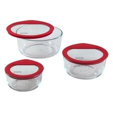 Premium Glass Lids 6-Piece Storage Set