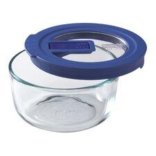 No Leak Lids 16 Oz. Round Storage Dish