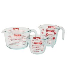 3 Piece Prepware Measuring Cup Set