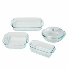 5 Piece Sculpted Storage Container Set