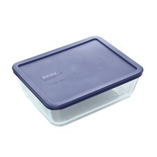 Storage Plus 11 Cup Rectangular Dish with Lid (Set of 2)