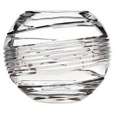 """Spirale 4"""" Crystal Vase"""