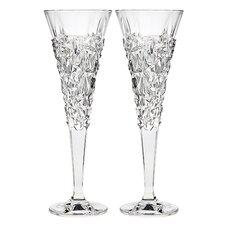Glacier Champagne Toasting Flute Glass (Set of 2)