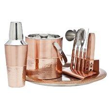 9 Piece Copper Bar Set