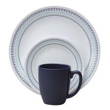 Livingware™ Folk Stitch 16 Piece Dinnerware Set