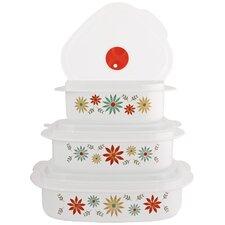 Corelle Coordinates 6 Piece Microwave Cookware and Food Storage Set