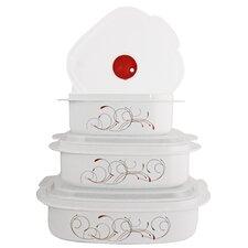 Splendor 6-Piece Microwave Cookware and Storage Set