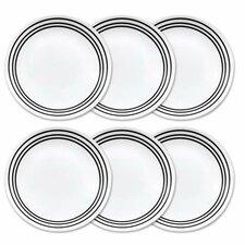 """Livingware 8.5"""" Dinner Plate set (Set of 6)"""