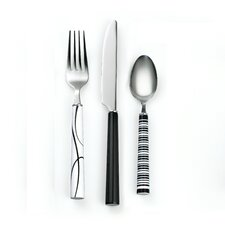 Simple Lines 12 Piece Flatware Set