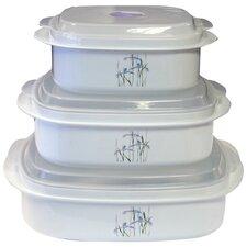 Corelle Coordinates 6- Piece Microwave Cookware and Storage Set