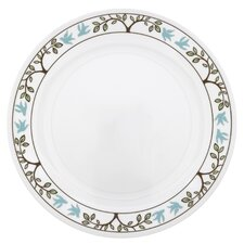 "Livingware 10.25"" Tree Bird Dinner Plate (Set of 6)"