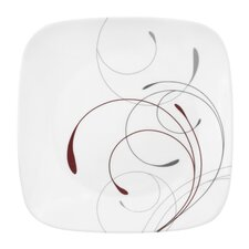 "Splendor 10.25"" Square Dinner Plate (Set of 6)"