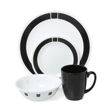 Livingware Urban 16 Piece Dinnerware Set