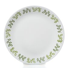 "Livingware 10.25"" Neo Leaf  Dinner Plate (Set of 6)"
