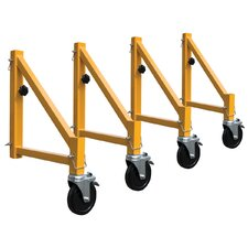 Jobsite Series Steel Scaffold Outriggers (Set of 4)