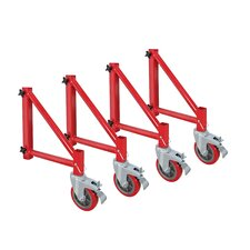 Buildman Series Steel Scaffold Outriggers (Set of 4)