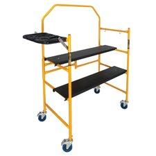 Jobsite Series 4.81' H x 49.56'' W x 22.56'' D Steel 2-Step System Scaffolding