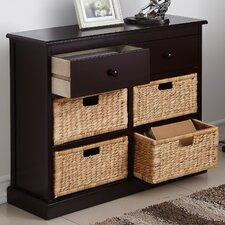 Nina 2 Drawer 4 Basket Storage Chest