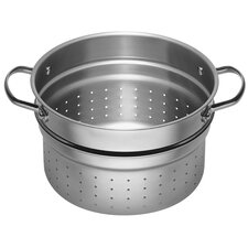 Stainless Steel 6.5-qt. Food Strainer