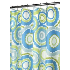 Prints Groovy Circles Shower Curtain