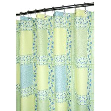 Prints Tulip Patchwork Shower Curtain