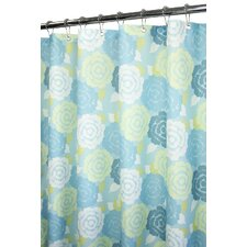 Watershed Prints Marigold Shower Curtain