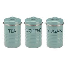 Vintage Kitchen 3-Piece Storage Container Set
