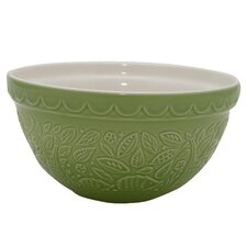 Hedgehog Embossed 21cm Mixing Bowl in Green