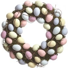 """16.5"""" Easter Egg Wreath"""