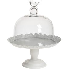 Metal/Glass Cake Stand