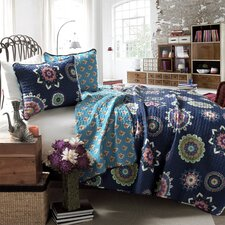 Mandy 3 Piece Coverlet Set