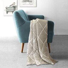 Lattice Geometric Throw Blanket