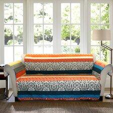 Boho Stripe Loveseat Furniture Protector