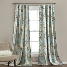 Botanical Garden Curtain Panel (Set of 2)