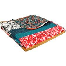 Boho Stripe Cotton Throw Blanket