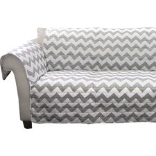 Chevron Loveseat Protector