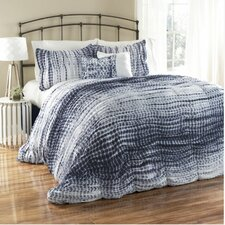 Pebble Creek 3 Piece Tie Dye Duvet Set